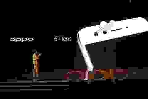 """Oppo F3 Plus với camera kép 16 """"chấm"""" chính thức ra mắt, giá 10,69 triệu đồng"""