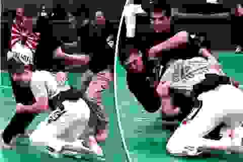 Võ sĩ MMA cầm dao đấu với hai cảnh sát