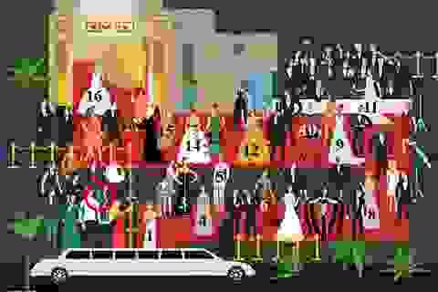 Đáp án: Đường tới… tượng vàng Oscar
