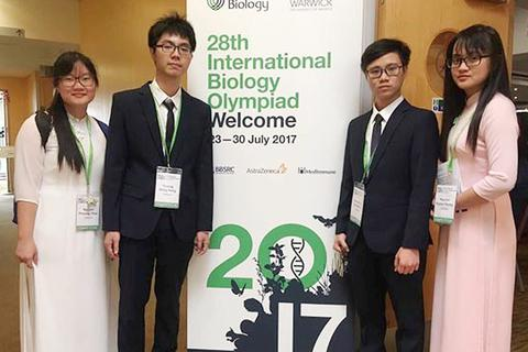 Nam sinh Huế đạt HCV Olympic Sinh học Quốc tế: Giỏi tiếng Anh, tự học tốt