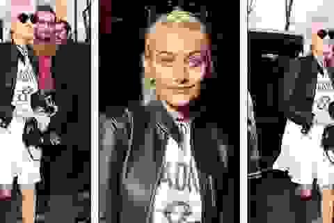 Con gái Vua nhạc Pop sành điệu đi xem thời trang