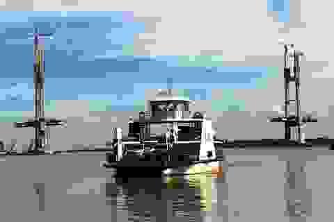 Đồng Tháp: Bố trí phà 100 tấn chở đề thi qua sông Tiền