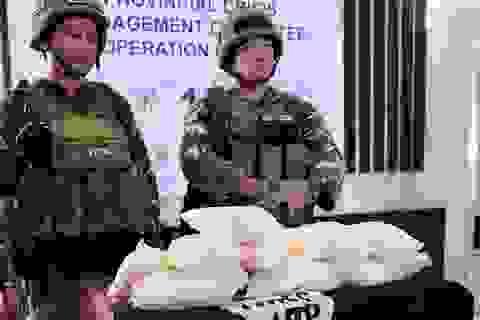 Quân đội Philippines tìm thấy lượng ma túy đá giá 2 triệu USD bị phiến quân bỏ lại