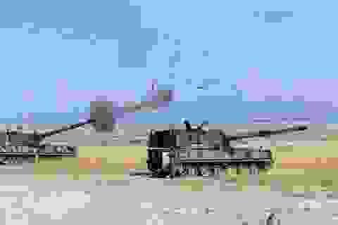Thổ Nhĩ Kỳ pháo kích trực tiếp vào binh sĩ Syria