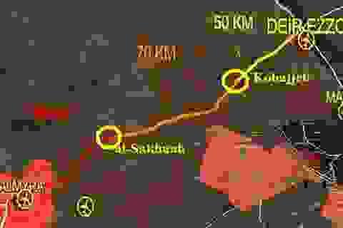 Deir Ezzor nguy ngập, Syria vạch kế hoạch dốc toàn lực phá vây