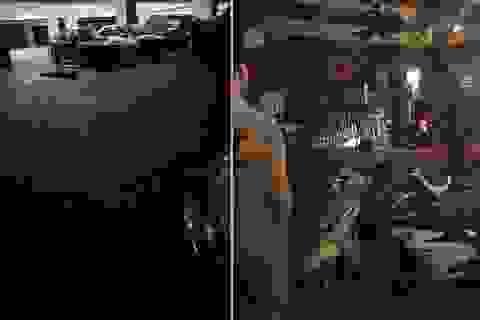 Nam sinh viên rơi từ tòa nhà Đại học Kiến trúc Hà Nội xuống đất tử vong