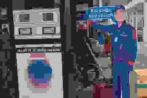 Cây xăng Việt dựng hình nhân đấu với 'xăng kiểu Nhật'?
