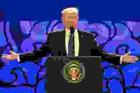 Tổng thống Trump đăng 5 phát ngôn tại APEC lên Twitter