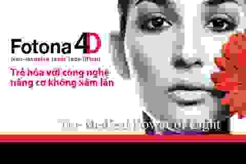 Trẻ hoá với FOTONA 4D, Công nghệ nâng cơ không xâm lấn