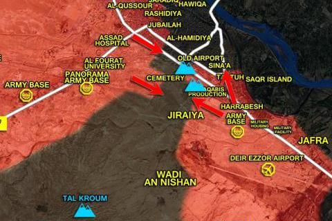 IS tăng quân, thổi Palmyra thành lò lửa