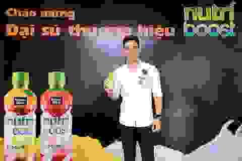 Nhãn hàng Nutriboost công bố đại sứ thương hiệu năm 2017