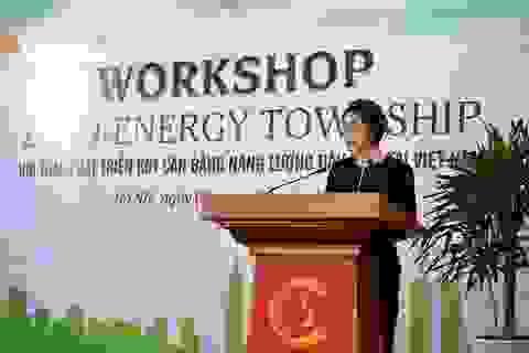 """Hội thảo quốc tế """"Phát triển khu đô thị cân bằng năng lượng đầu tiên tại Việt Nam"""""""