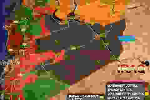 Quân Assad chặt đứt mạch máu của phiến quân tại Hama
