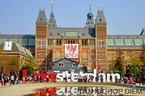 Lý do nào khiến Amsterdam là điểm đến du học lý tưởng tại Hà Lan?