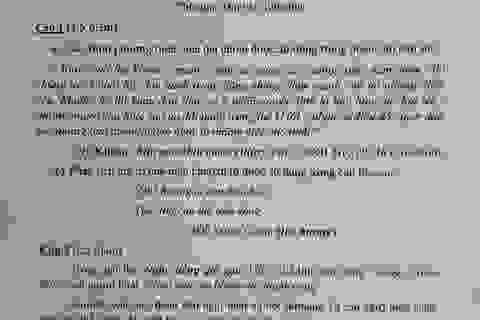 Gợi ý giải đề thi môn Văn vào khối 10 chuyên ĐH Sư phạm Hà Nội