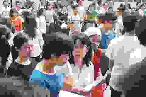 """Sáng nay, hơn 76.000 thí sinh Hà Nội bước vào """"cuộc đua"""" lớp 10 công lập"""