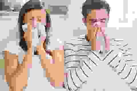 Phân biệt cảm và cúm khi thời tiết giao mùa