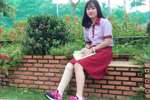 Nữ sinh bị cưa chân thay đổi nguyện vọng chọn trường đại học