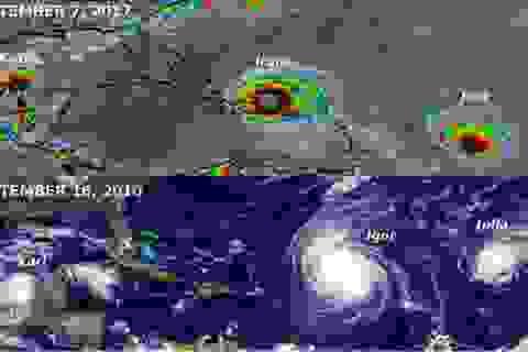 Irma chưa qua, châu Mỹ lại chuẩn bị đón bão Katia và Jose