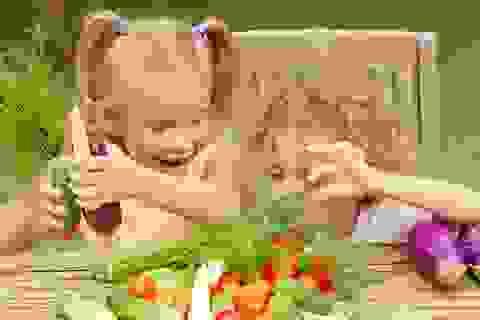 Hãy đưa trẻ đi chợ nếu muốn con ăn nhiều rau