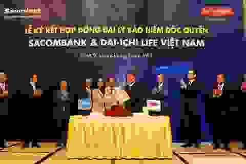 """Cái bắt tay """"lịch sử"""" giữa Dai-ichi Life Việt Nam và Sacombank"""