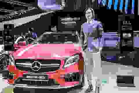 """JVevermind """"lạ lẫm"""" bên mẫu xe Mercedes-AMG"""