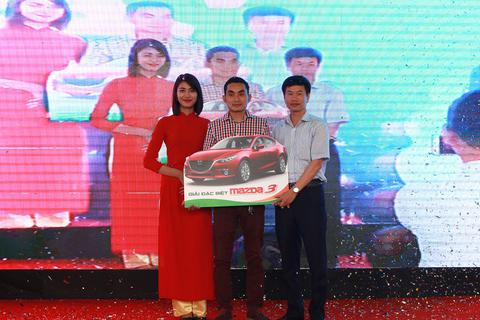 Mua căn hộ An Bình City bốc thăm Mazda CX5