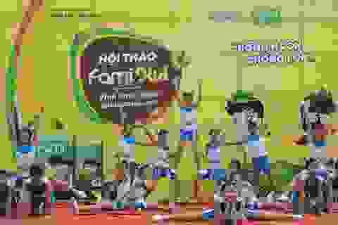 Triệu suất sữa cho mục tiêu giúp trẻ em Việt Nam phát triển toàn diện
