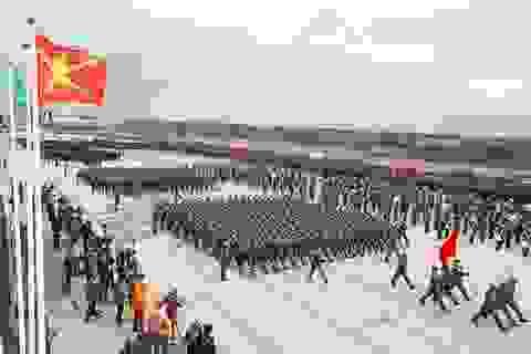 Quân đội Nga luyện tập cho Ngày chiến thắng