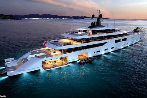 Những thiết kế siêu du thuyền mới nhất dành cho tỉ phú