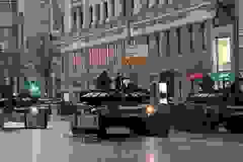 Nga diễn tập chuẩn bị cho lễ duyệt binh Ngày Chiến thắng tại Moscow