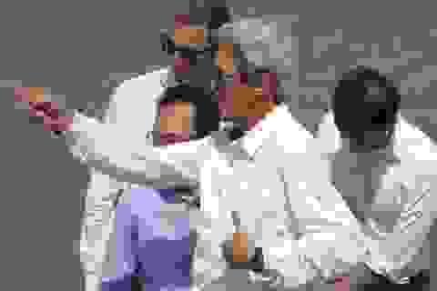Ngoại trưởng Mỹ John Kerry đến Cà Mau