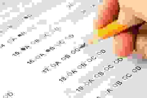 Chấm thi trắc nghiệm: 2 yếu tố bắt buộc cần quan tâm