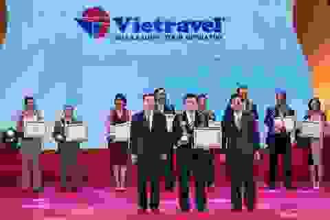 """Vietravel tiếp tục đứng đầu ngành lữ hành tại """"Giải thưởng du lịch Việt Nam 2017"""""""