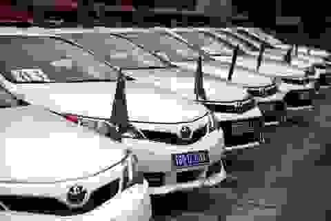 Dàn xe chuyên dụng từ Hà Nội hành quân vào Đà Nẵng dẫn đoàn APEC