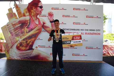 Tinh thần không giới hạn lan tỏa từ giải Marathon quốc tế TP.HCM Techcombank 2017