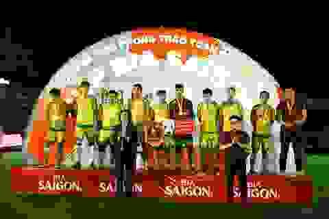 Đội Quahaco FC đoạt Cúp Vô Địch Bình Định.
