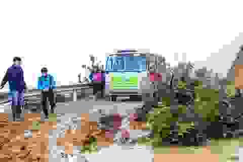 Hành trình đầy ý nghĩa của Đoàn Thanh niênTrường ĐH Mỏ - Địa chất tại xã Chế tạo - Mù Cang Chải