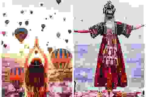 Vẻ đẹp kì lạ của Thổ Nhĩ Kỳ qua khinh khí cầu