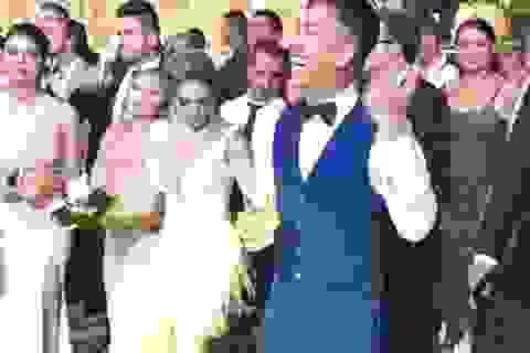 Dàn sao Liverpool tề tựu tại đám cưới trong mơ của Firmino