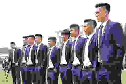 Veneto - Thương hiệu thời trang tài trợ lễ phục cho U20 Việt Nam trong mùa Worldcup 2017
