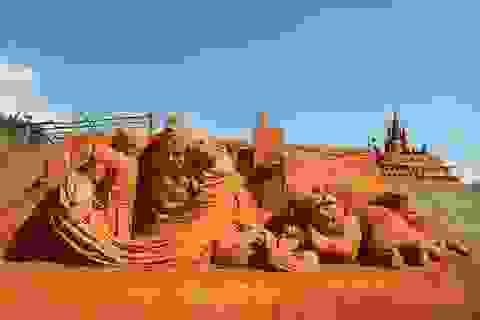 """Lạc lối giữa thế giới tượng cát """"độc nhất vô nhị"""" tại Phan Thiết"""