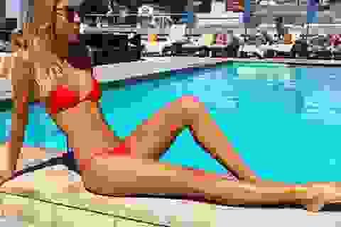 Bà xã của Morata sắp trở thành bóng hồng sexy nhất Premier League