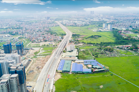 """Diện kiến tuyến đường """"dát kim cương"""" vừa thông xe tại Hà Nội"""