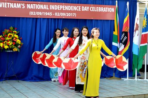 Lễ kỷ niệm 72 năm Quốc khánh Việt Nam tại Nam Phi