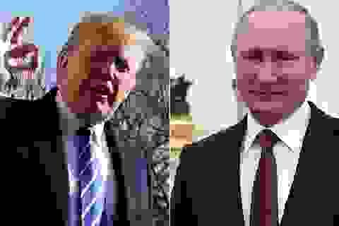 Ông Putin cảm ơn ông Trump giúp phá âm mưu khủng bố