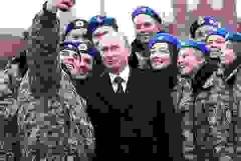 Tỷ lệ ủng hộ ấn tượng của người Nga dành cho Tổng thống Putin