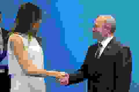 Tổng thống Putin hài lòng khi trò chuyện với Đệ nhất phu nhân Mỹ