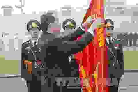 Binh chủng đặc công đón nhận Huân chương Quân công hạng Nhất