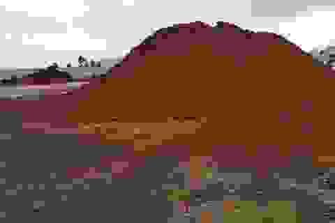 """""""Thương"""" doanh nghiệp, Bộ Công Thương lại cho xuất 200.000 tấn quặng sắt"""